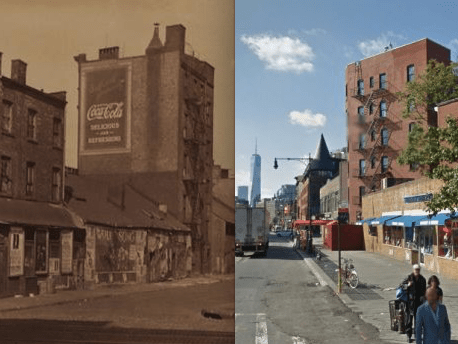 new york before and after west village