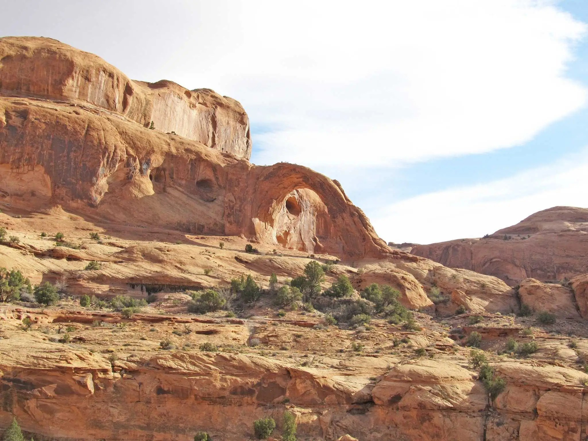 Mountain bike along the Poison Spider Mesa Trail in Moab, Utah.