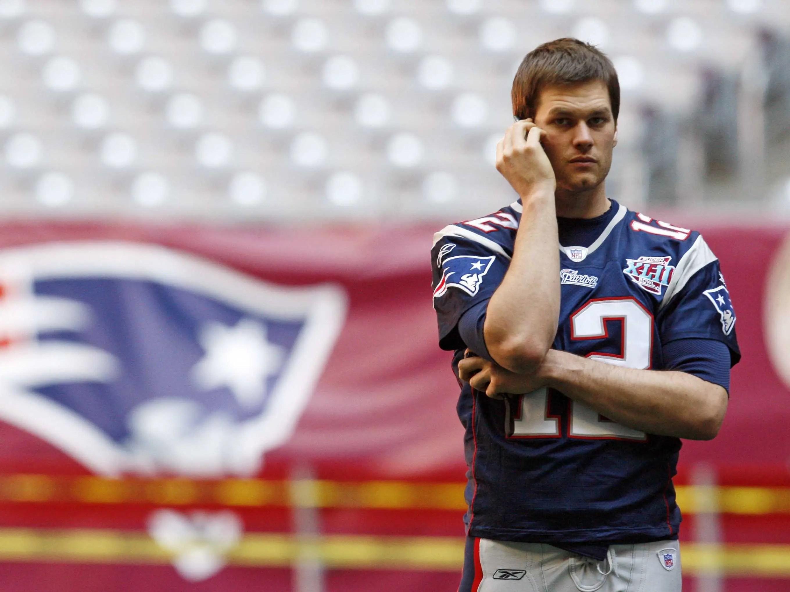 Tom Brady phone