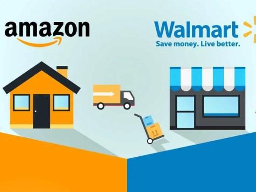 Αποτέλεσμα εικόνας για Google και Wal-Mart εναντίον Amazon