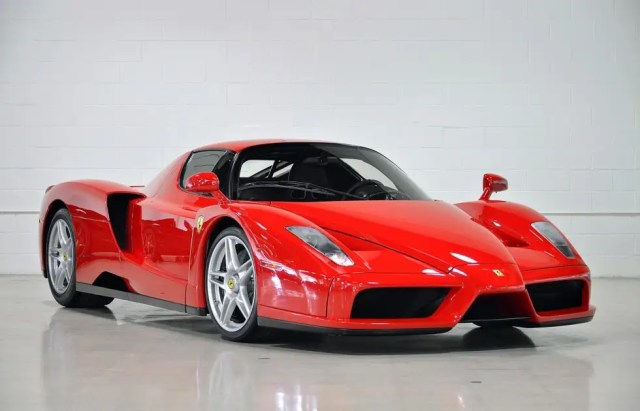 1. One of the rarest cars in the world, the most expensive car available through Fusion is a 2003 Ferrari Enzo.