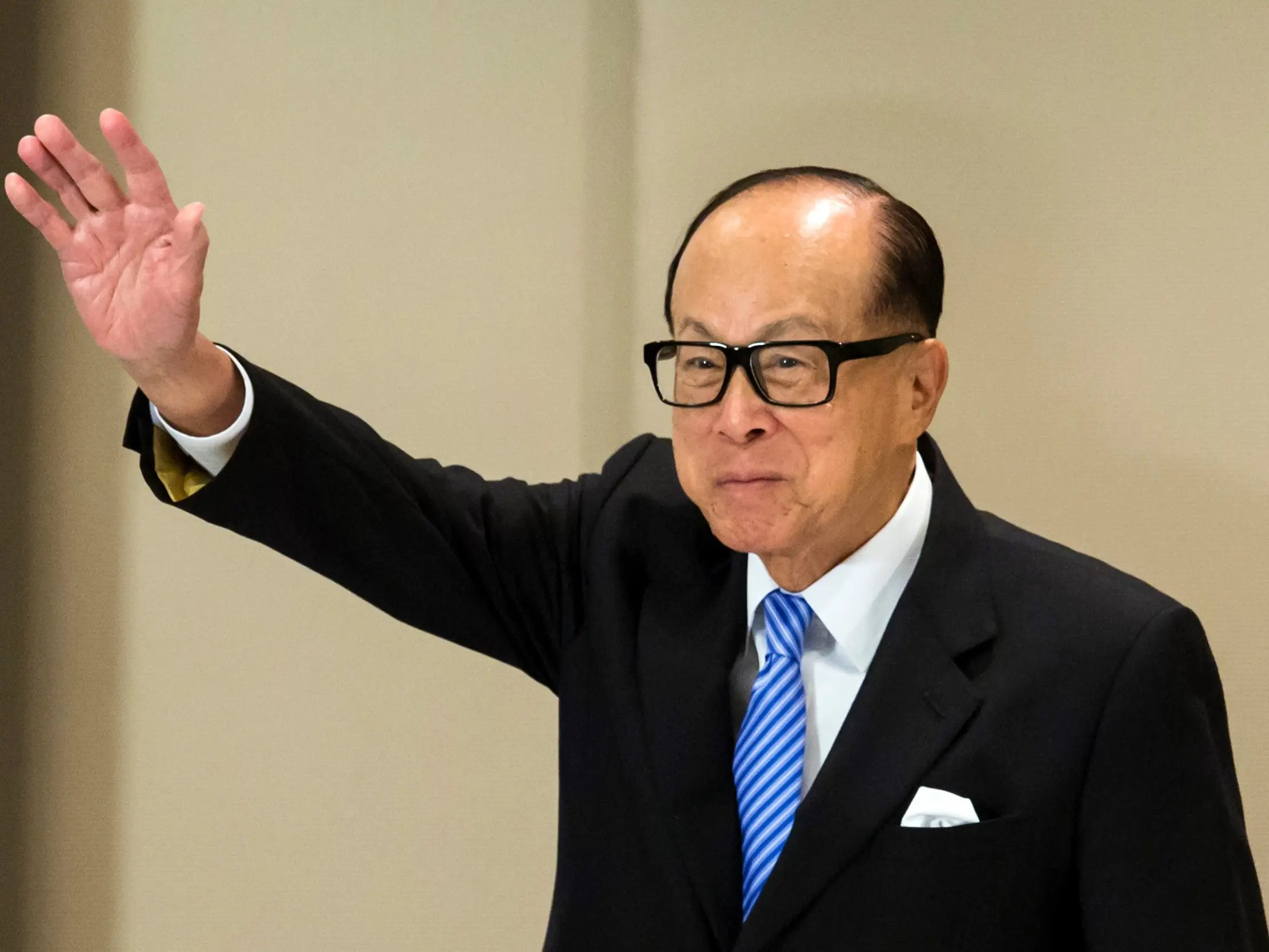 Li Ka-shing quit school at 15 to work in a plastics factory and is now the richest man in Hong Kong.