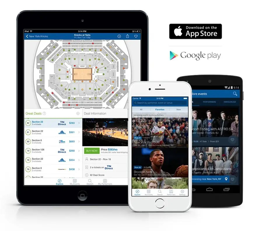 SeatGeek will help you find your next concert ticket.