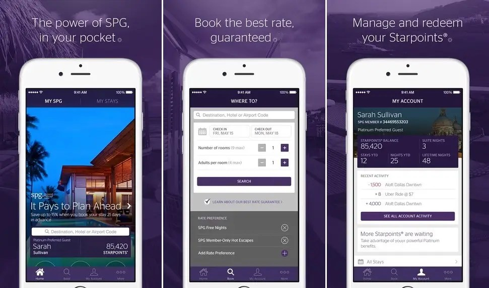 Starwood's SPG is the future of hotel apps.