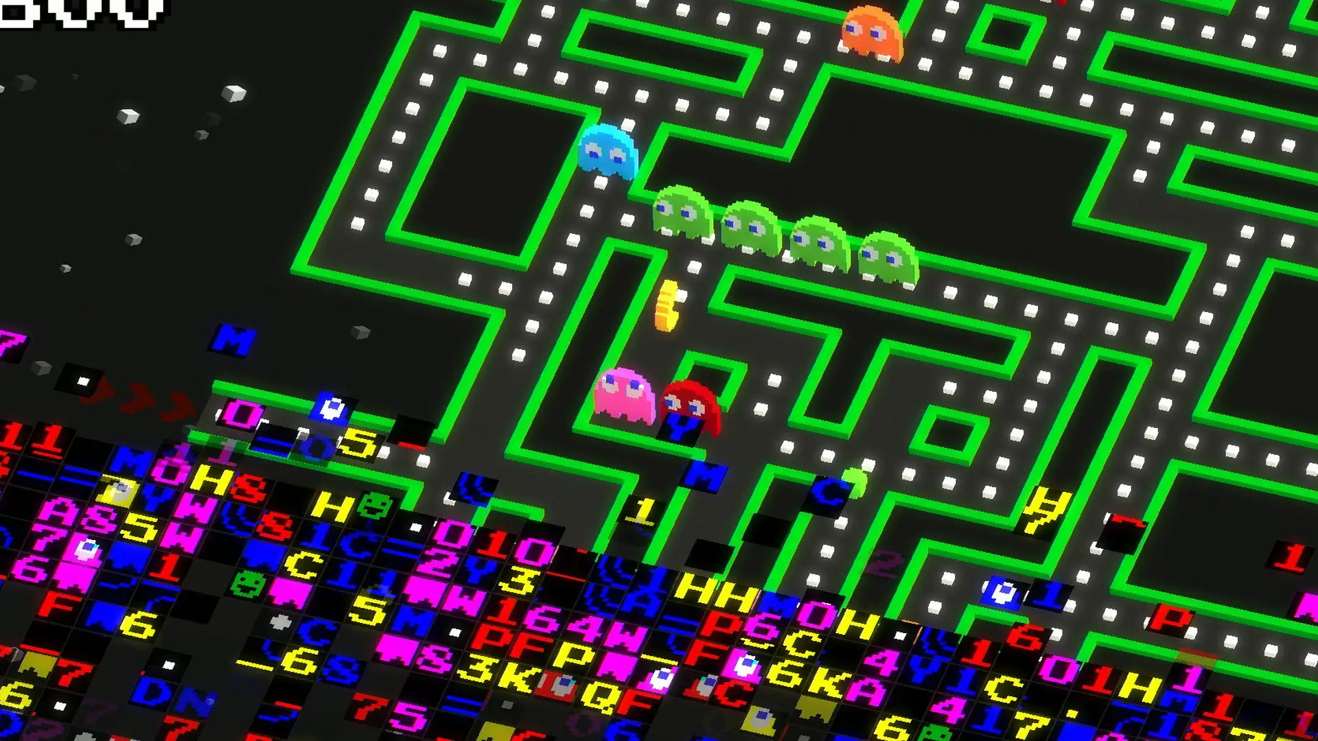 Pac-Man 256 is retro throwback.