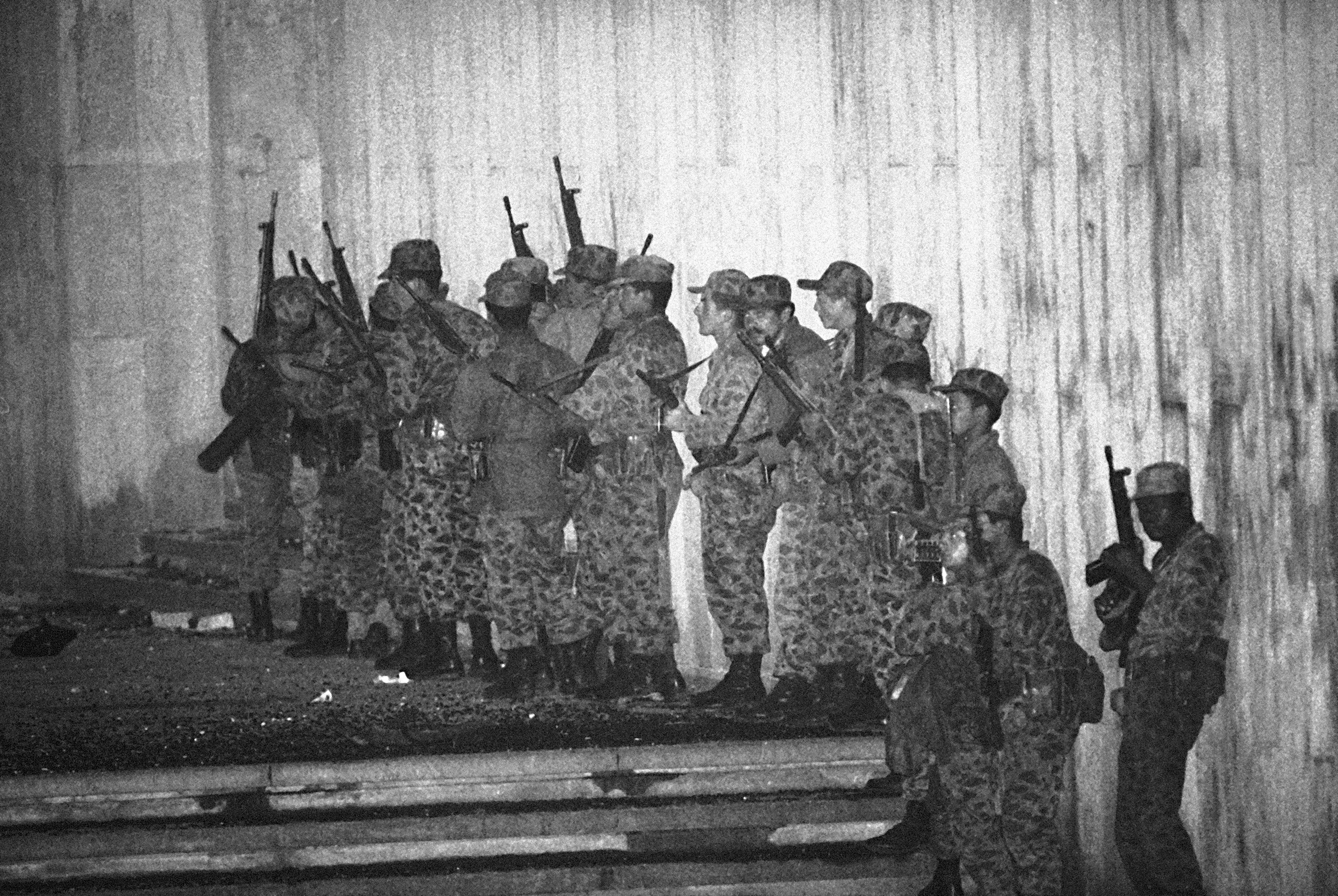 Colombia Palace raid soldiers