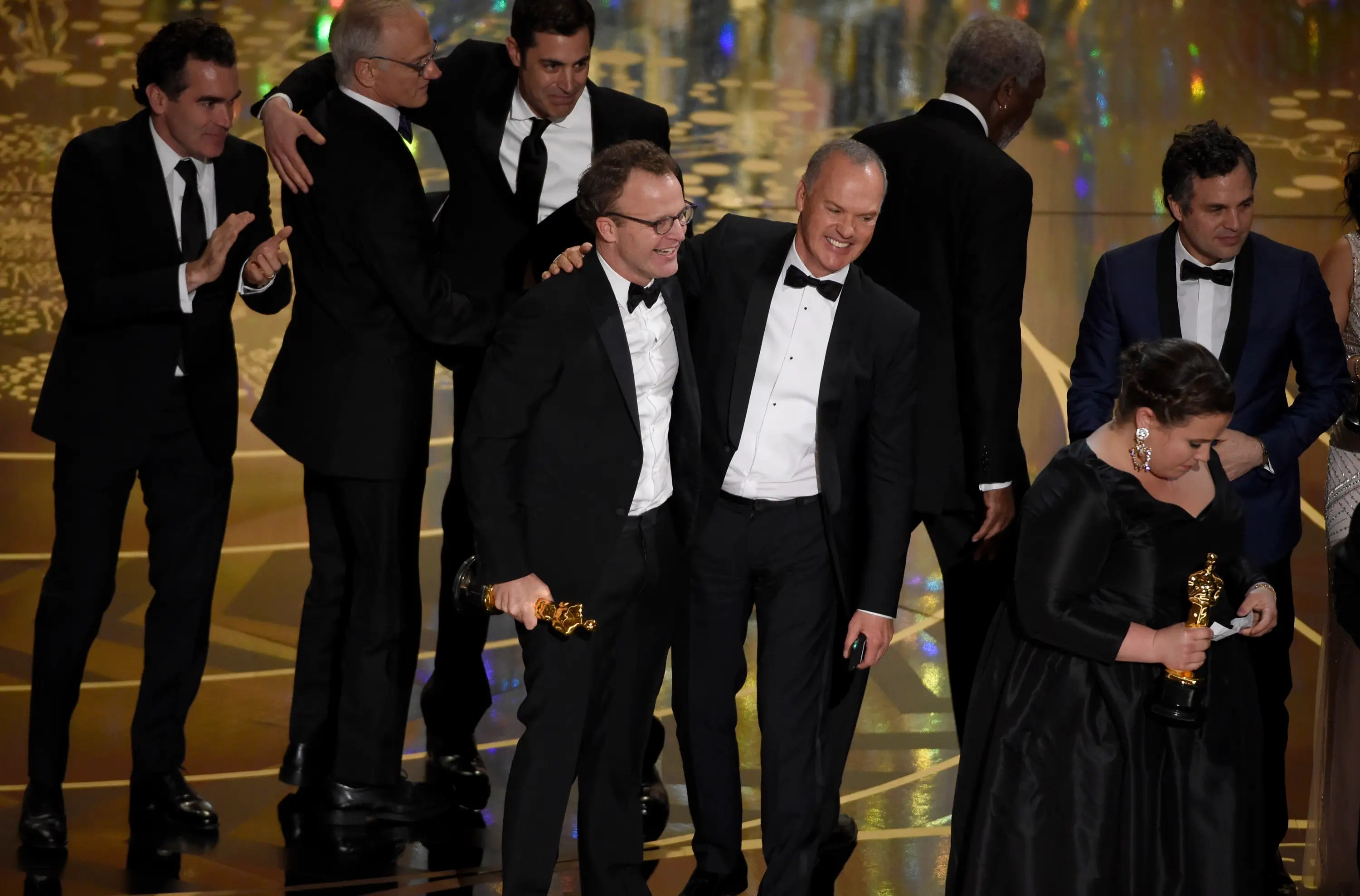 "BEST: ""Spotlight"" was the big upset of the night as it took home the best picture Oscar, ruining the night for ""The Revenant."""