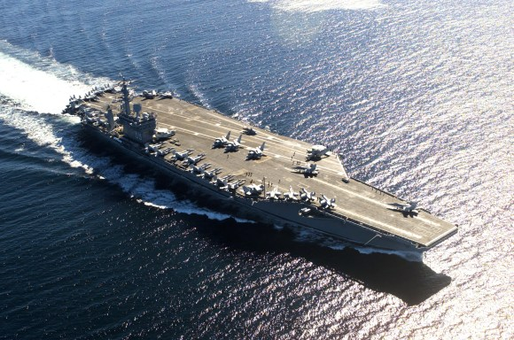 """The first of the """"supercarrier"""" classes were introduced during the Cold War."""