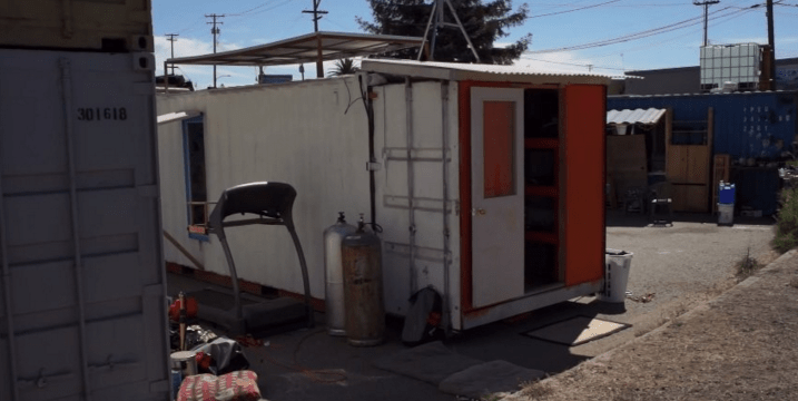 Luke Iseman, a 31-year-old Wharton grad, came up with a business targeting people seeking affordable housing. He's getting people to live (illegally) in converted shipping containers for $1,000 a month.