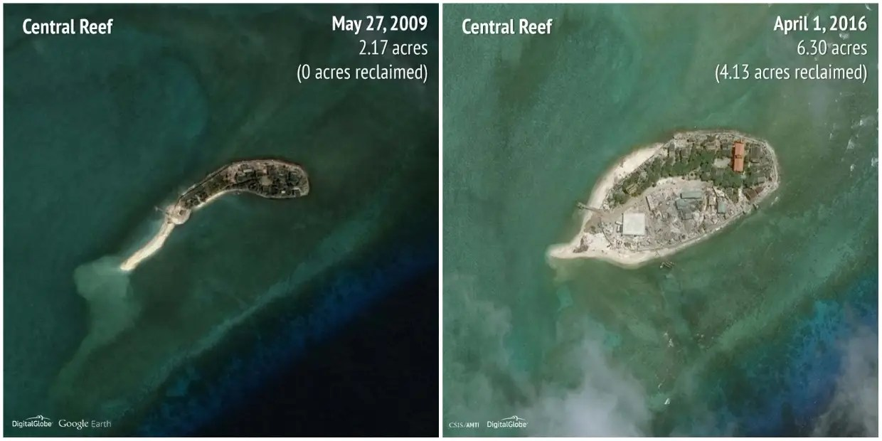 Central Reef: 2009 - 2016