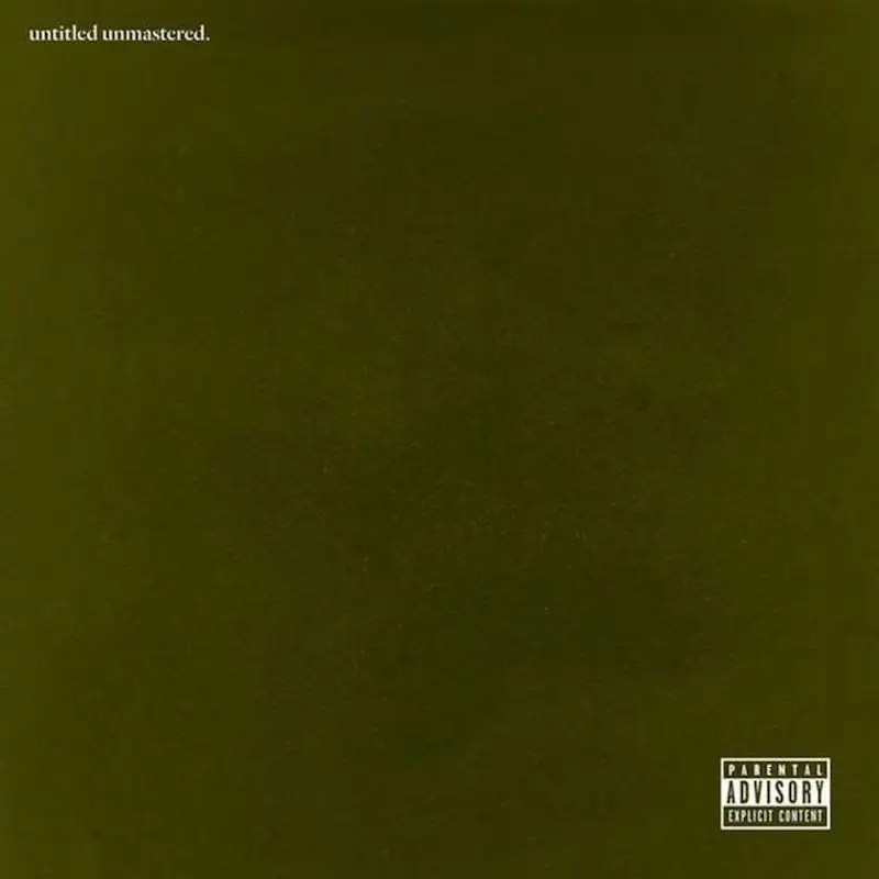 "10. Kendrick Lamar — ""untitled unmastered."""
