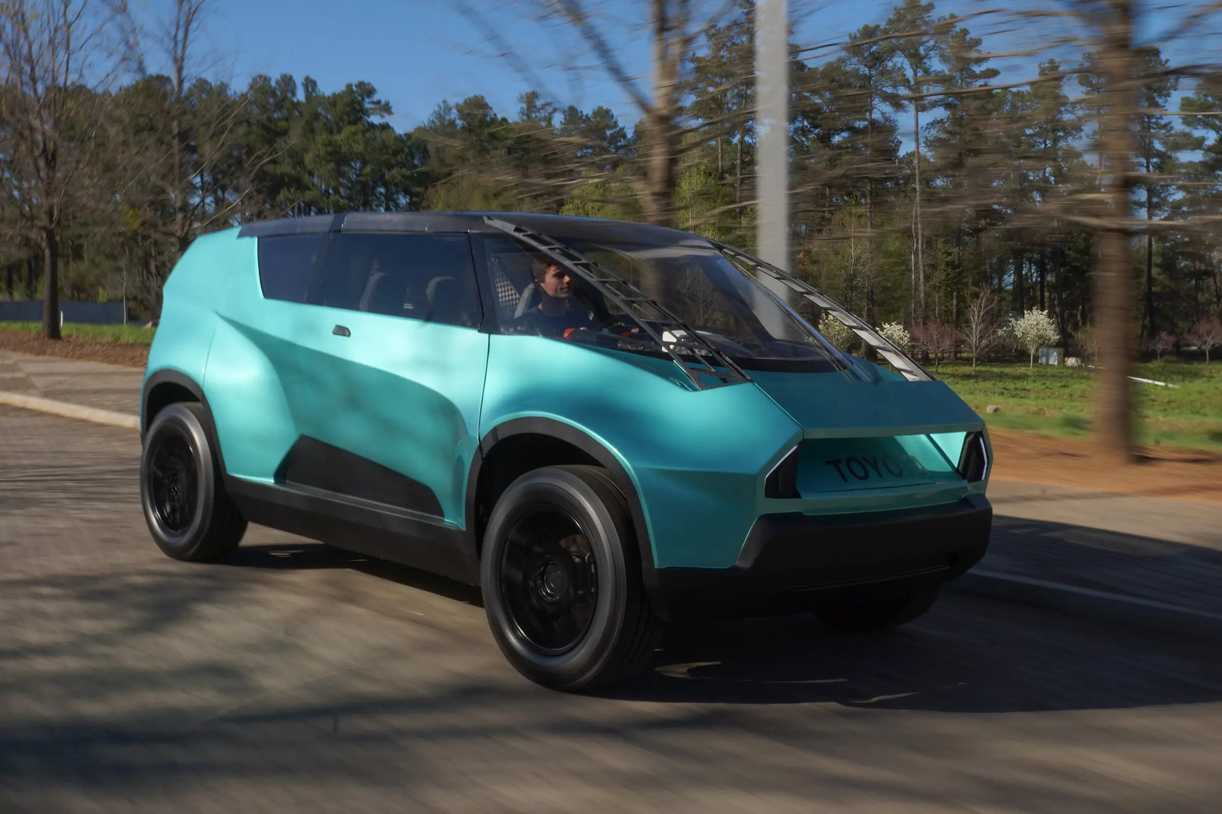 13. Toyota unveiled a strange-looking concept car dubbed the uBox to appeal to Generation Z in April.