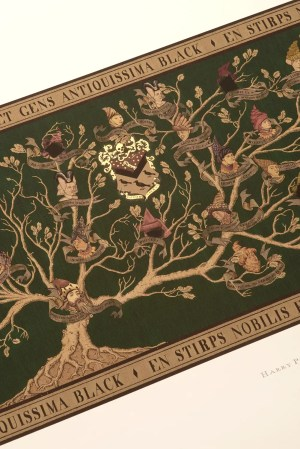 This is how they made the Black family tree in the 'Harry