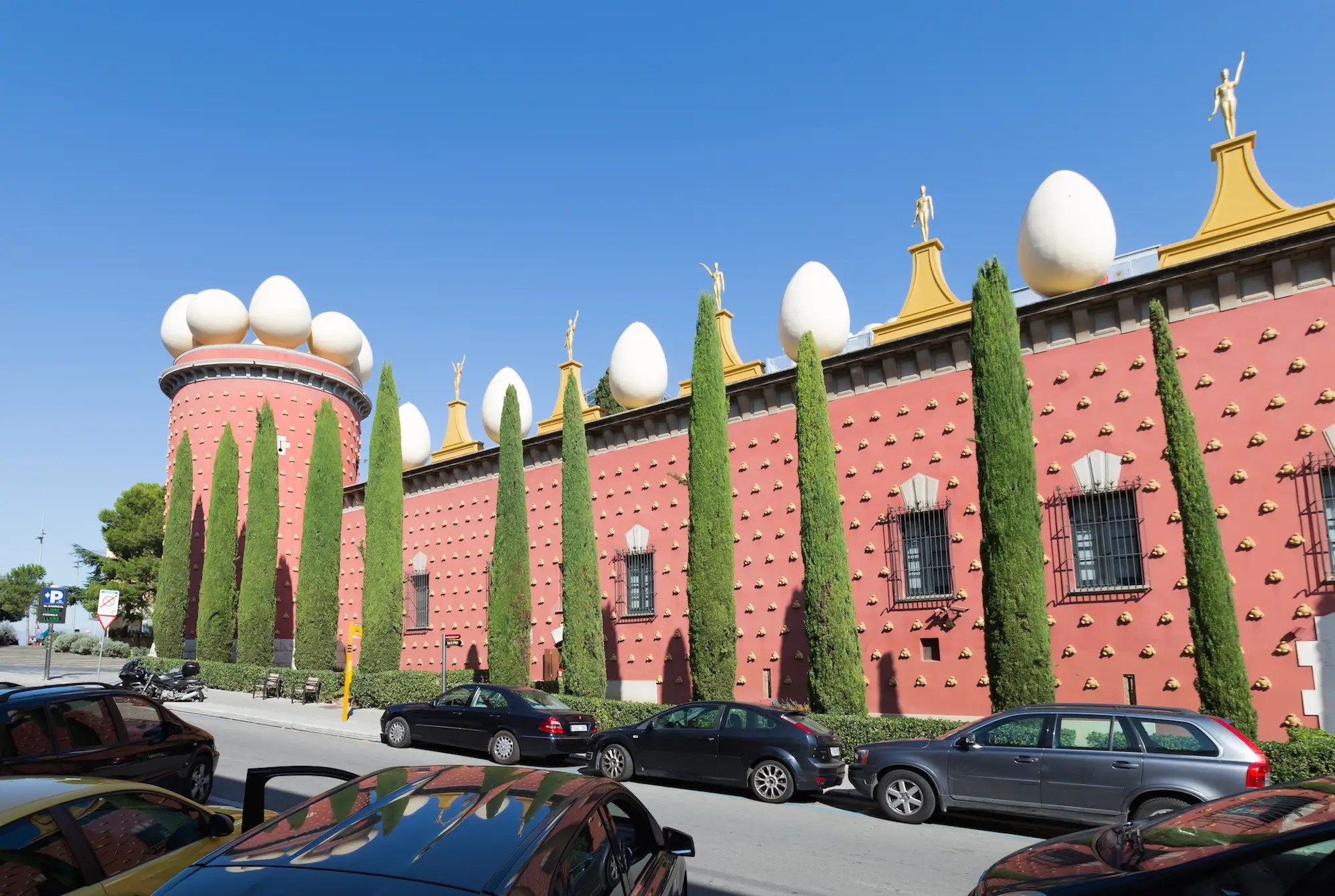 23. The Torre Galatea Figueras in Catalonia, Spain, is a museum for Salvador Dalí.