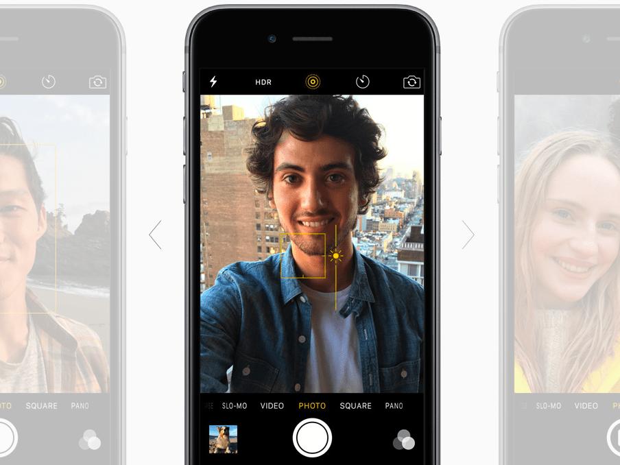 Exposure apple iphone camera