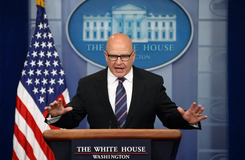 U.S. National Security Advisor H.R. McMaster speaks to reporters in the briefing room at the White House in Washington, U.S. May 16, 2017. REUTERS/Joshua Roberts