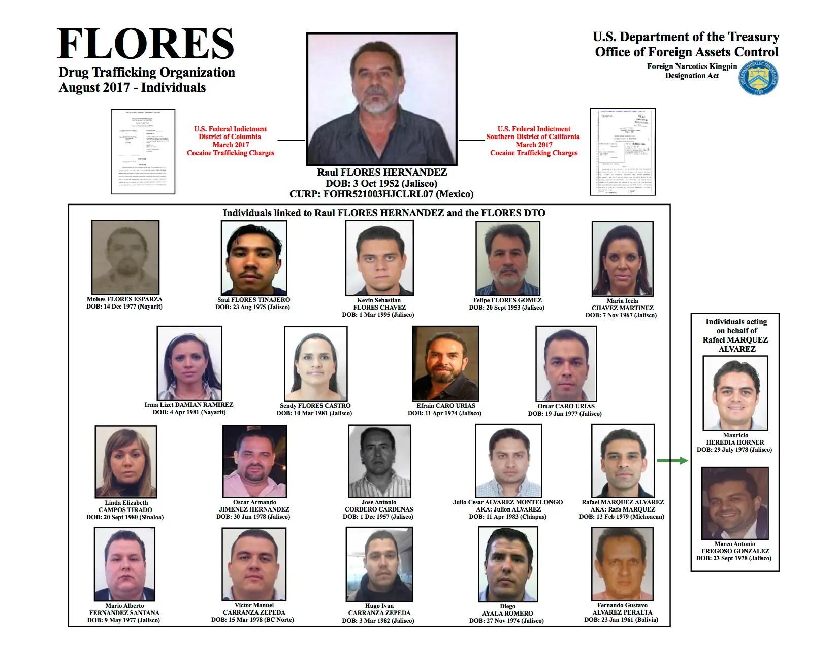 Raul Flores Hernandez organization