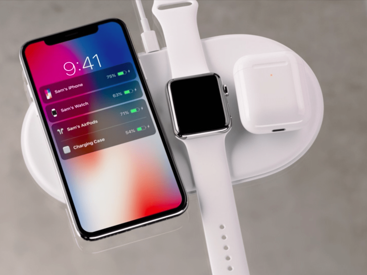 Apple made its first wireless charging pad called AirPower.