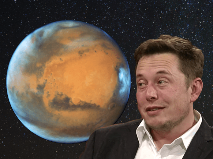 Elon Musk just doubled down on his theory on why nuking Mars would be a good idea