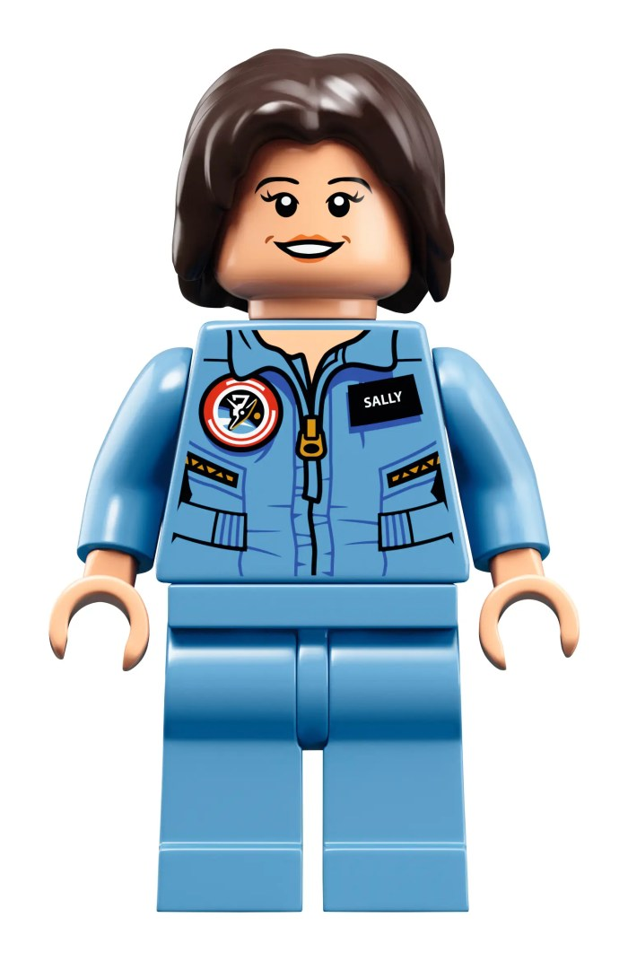 The astronaut, physicist, and entrepreneur Sally Ride will come in a 1980s training flight suit.
