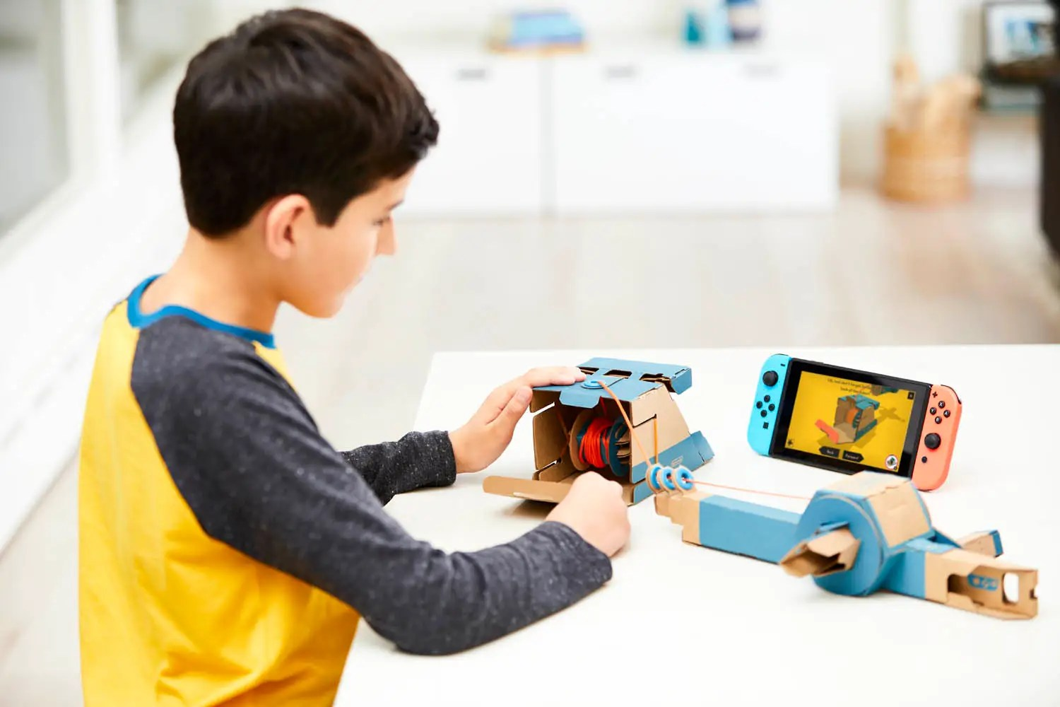 There are varying levels of difficulty to Labo, it seems. The fishing rod, for instance, seemingly has a bit more going on.
