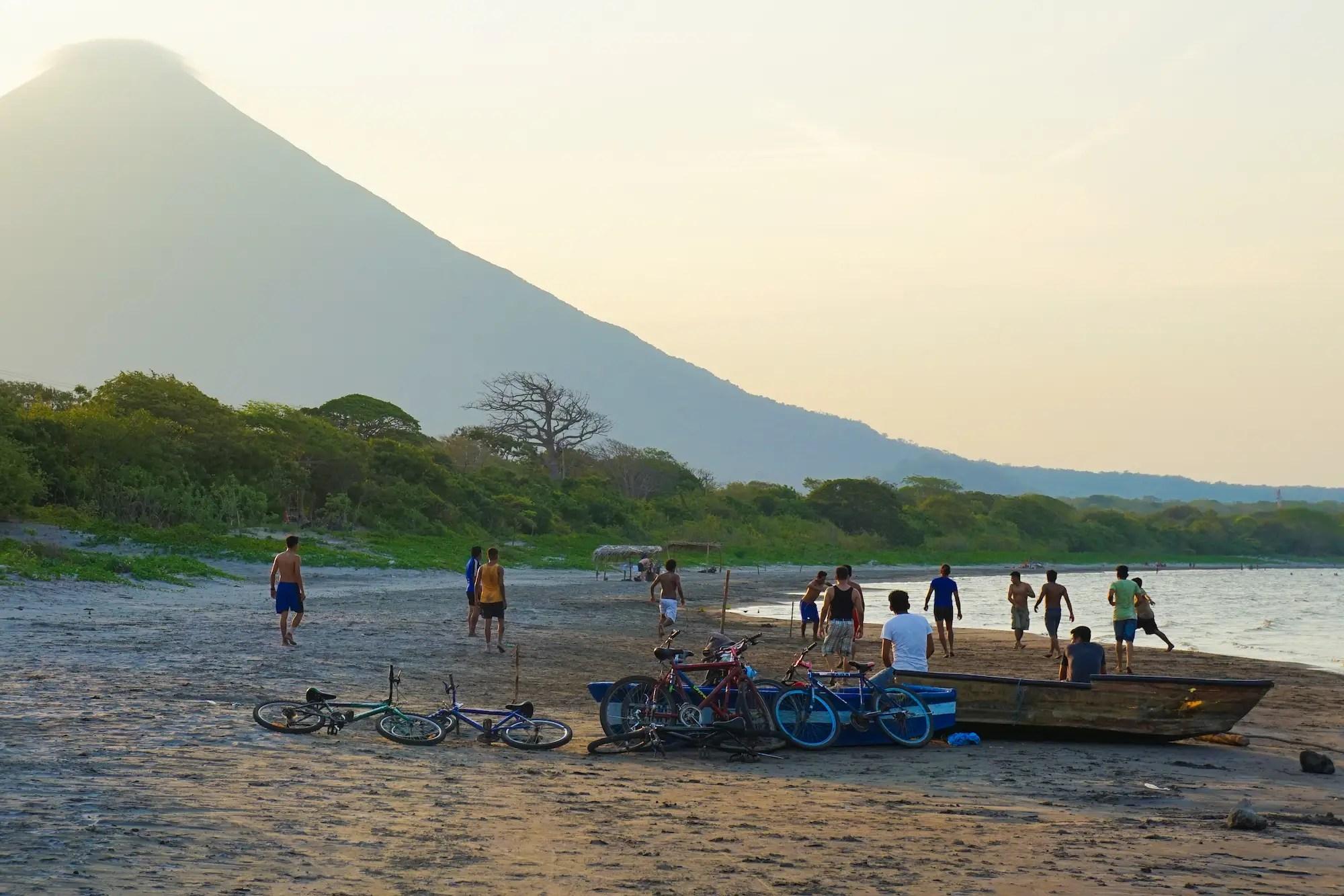 Lake Ometepe, Nicaragua.