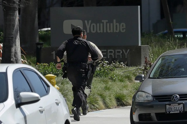 San Bruno YouTube shooting police