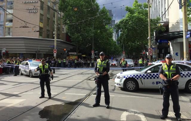 Melbourne stabbing incident