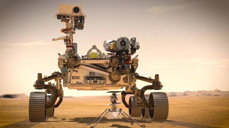 mars rover perseverance helicoper ingenuity