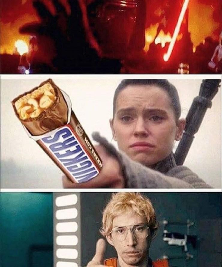 Kylo Ren And Rey Memes Cbr