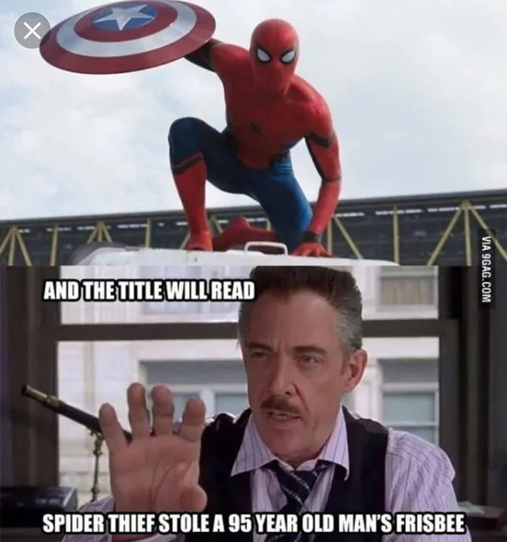 Spider Man 10 Funniest J Jonah Jameson Memes That Make Us Cry Laugh
