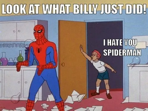 Spider Man 10 Funniest Memes About The 60s Show That Make Us Cry