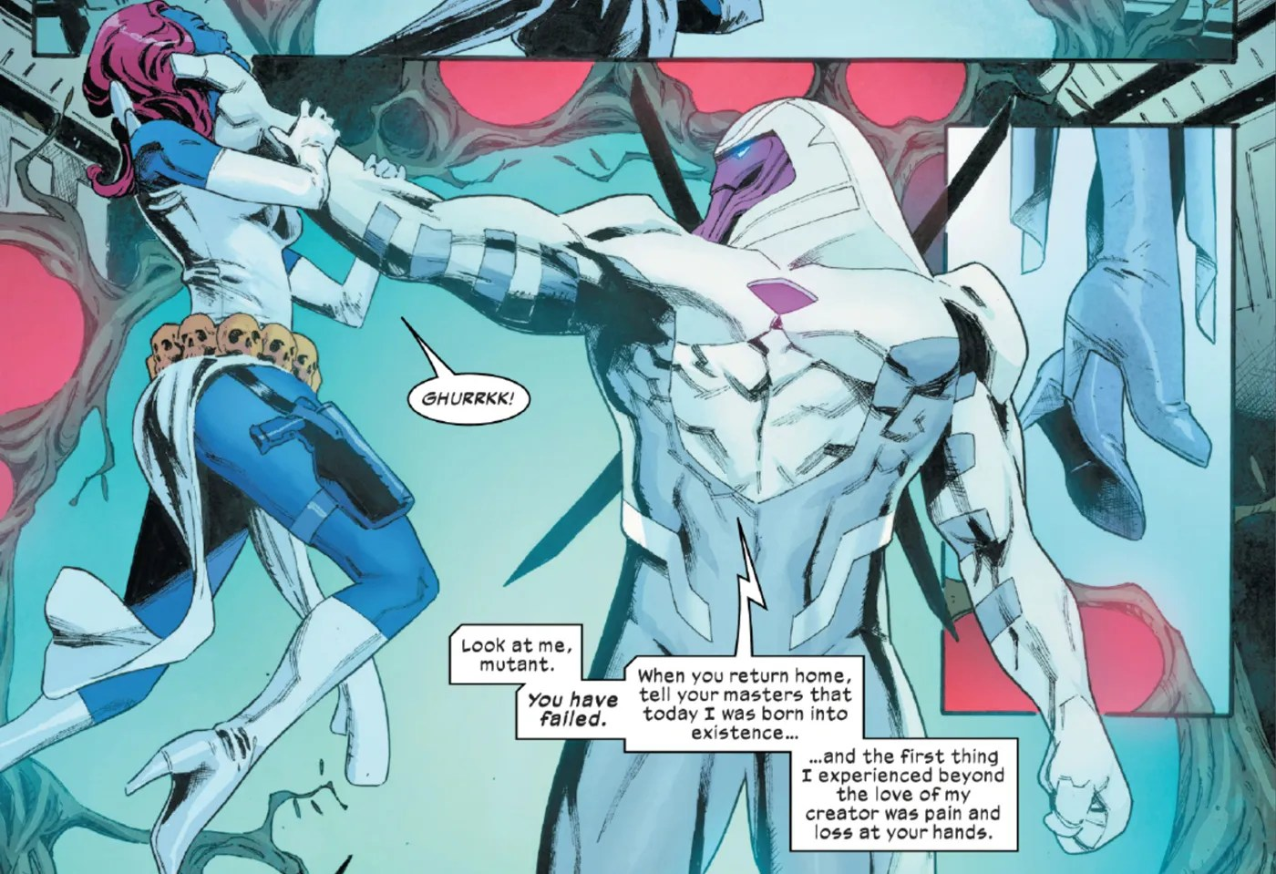 X-Men: Nimrod Pushes Marvel's Mutants to House of X's Deadly Future Endgame