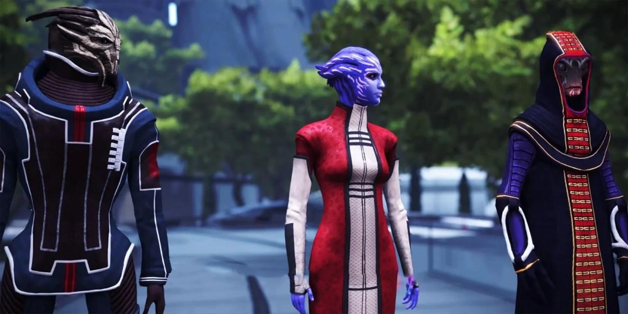 Mass Effect: The Citadel Council, Revealed | CBR