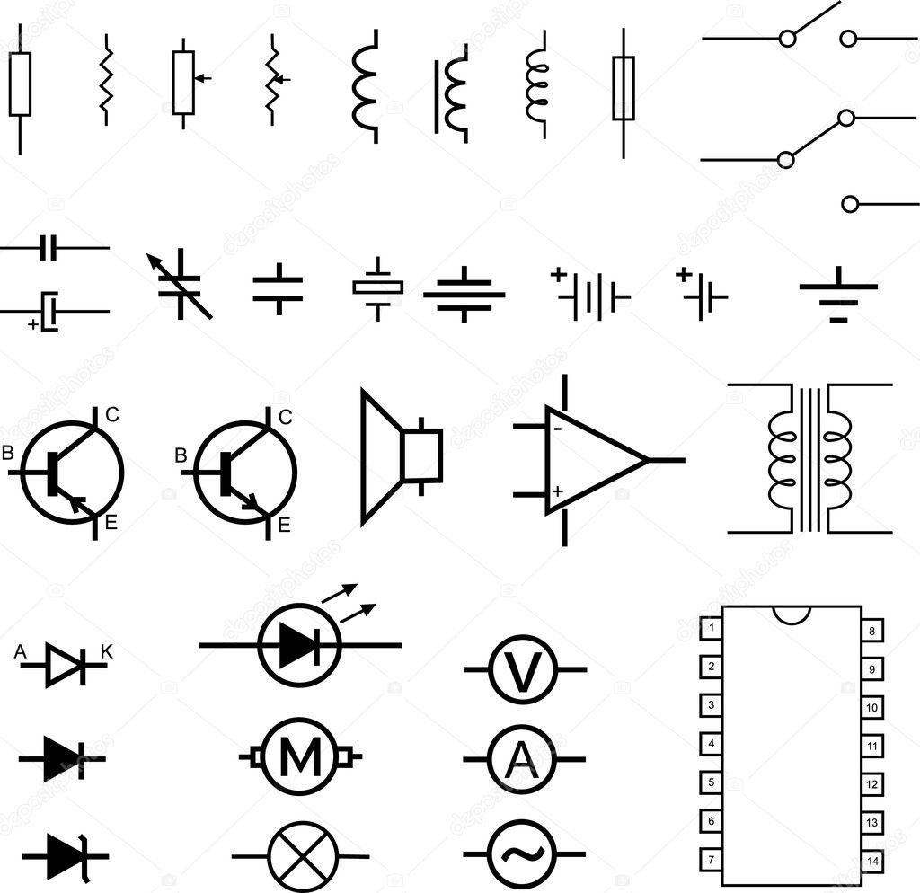 Symboles Electroniques