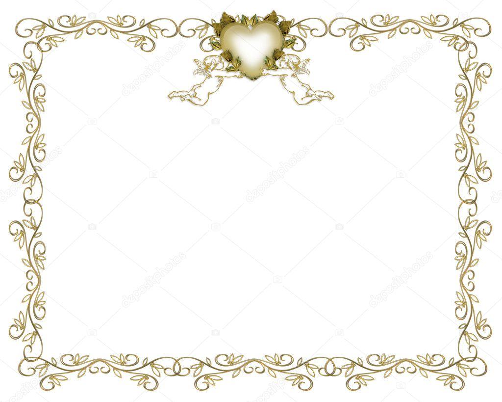 wedding invitation background angels stock photo image by c irisangel 2145795