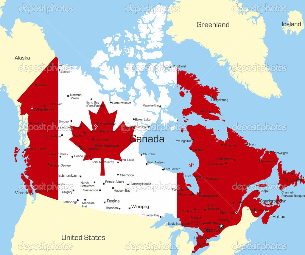 Canada Vector Image By Olinchuk