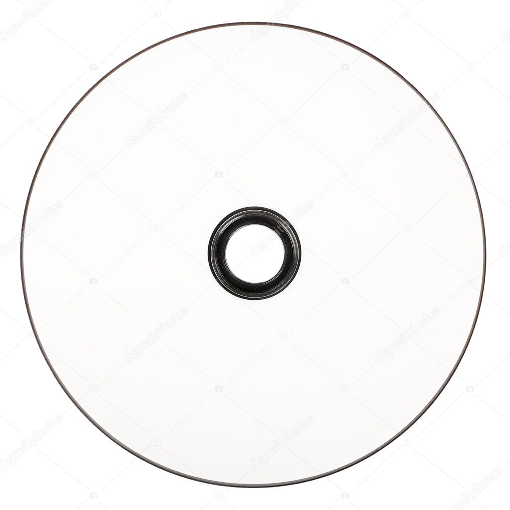cd white dvd