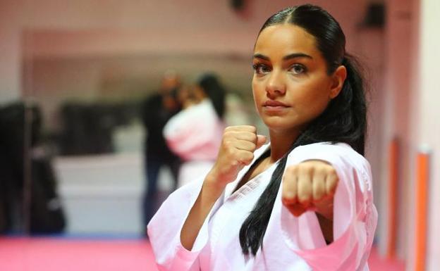 Su padre es Eugenio Torres, cinco veces campeón de Europa de 'kumite' y su entrenador /Fernando González