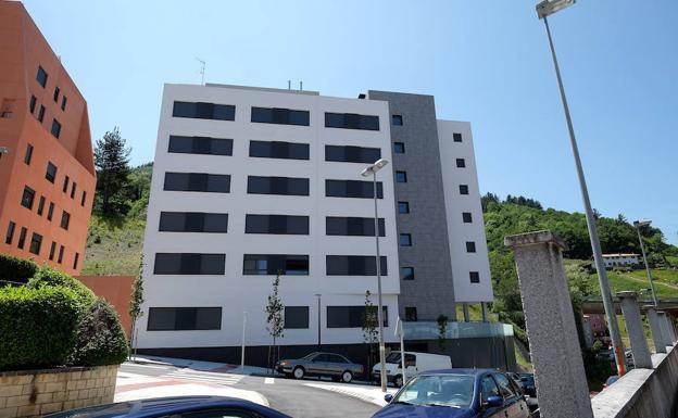 Bloque de viviendas de alquiler para jóvenes en Eibar.