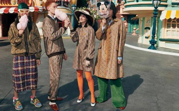 Image of the campaign of Gucci.