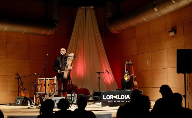 Thierry Biscary opening solo at the Loraldia.