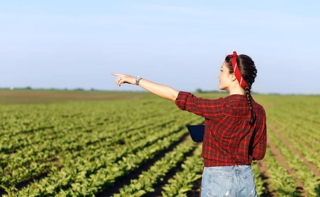 Resultado de imagen de mujeres rurales