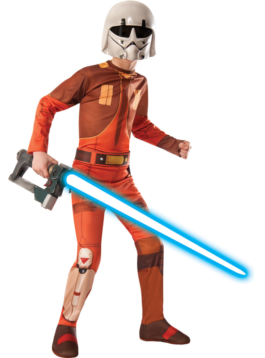 Ezra Bridger Kostm Fr Jungen Star Wars Rebels Funidelia