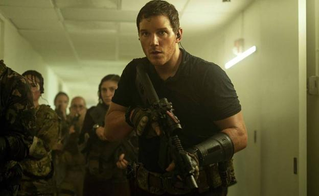 Chris Pratt faces an alien threat in 'Tomorrow's War'.
