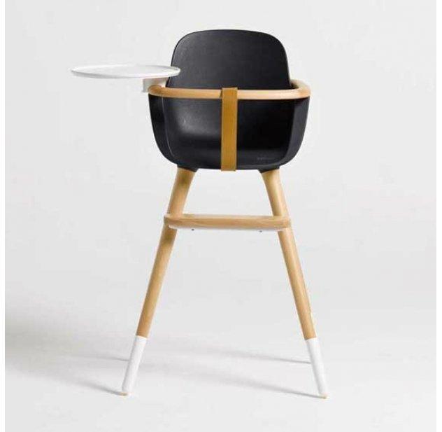 chaise haute ovo bleu de cobalt