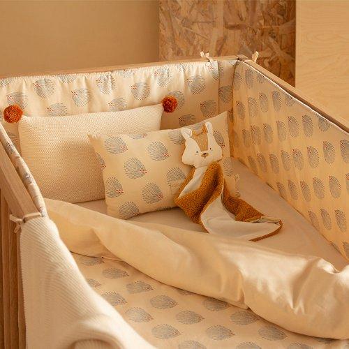 tour de lit bebe nest gatsby creme