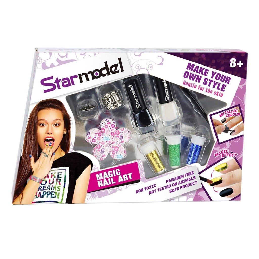 Starmodel Magiczny Zestaw Do Stylizacji Paznokci Dla Dzieci 5