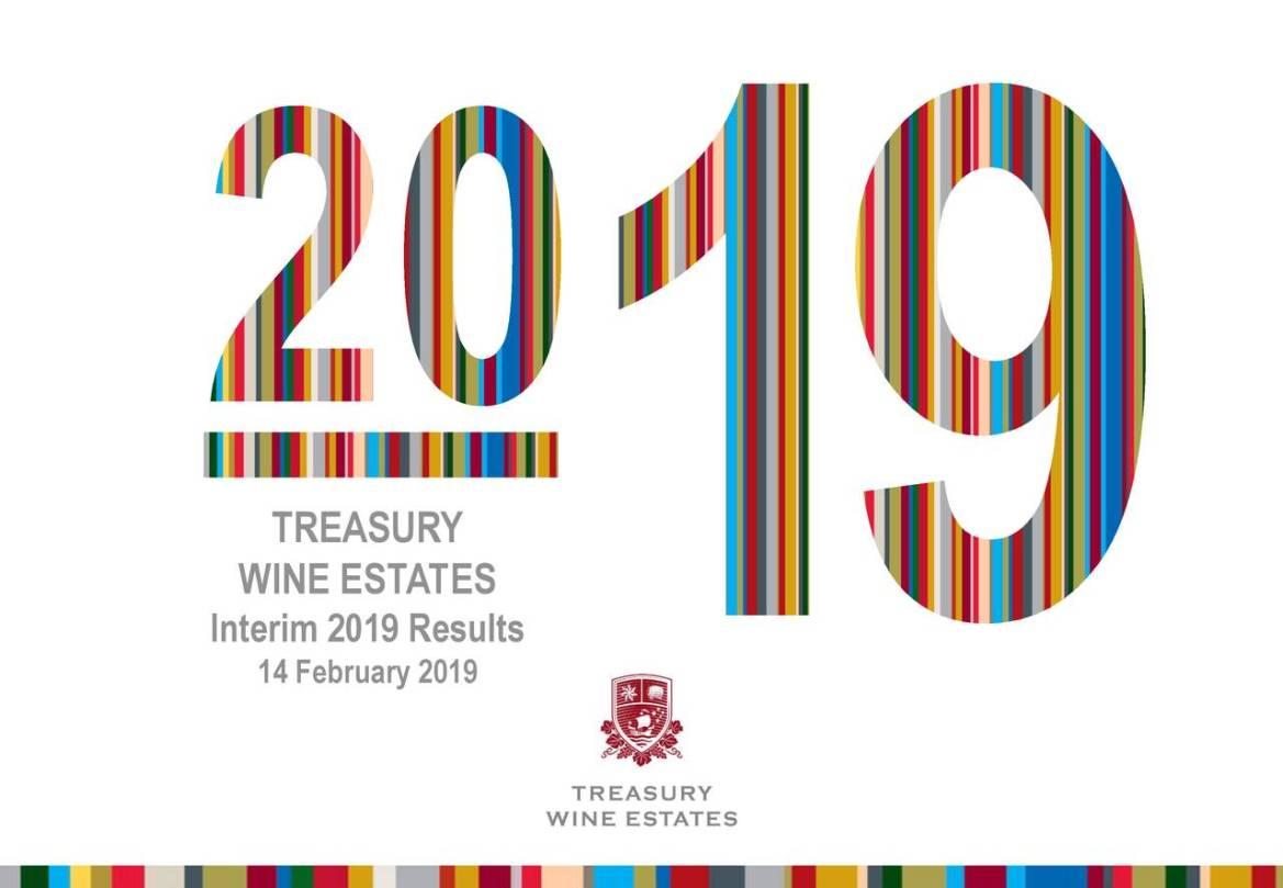 WINE ESTATES Interim 2019 Results 14 February 2019