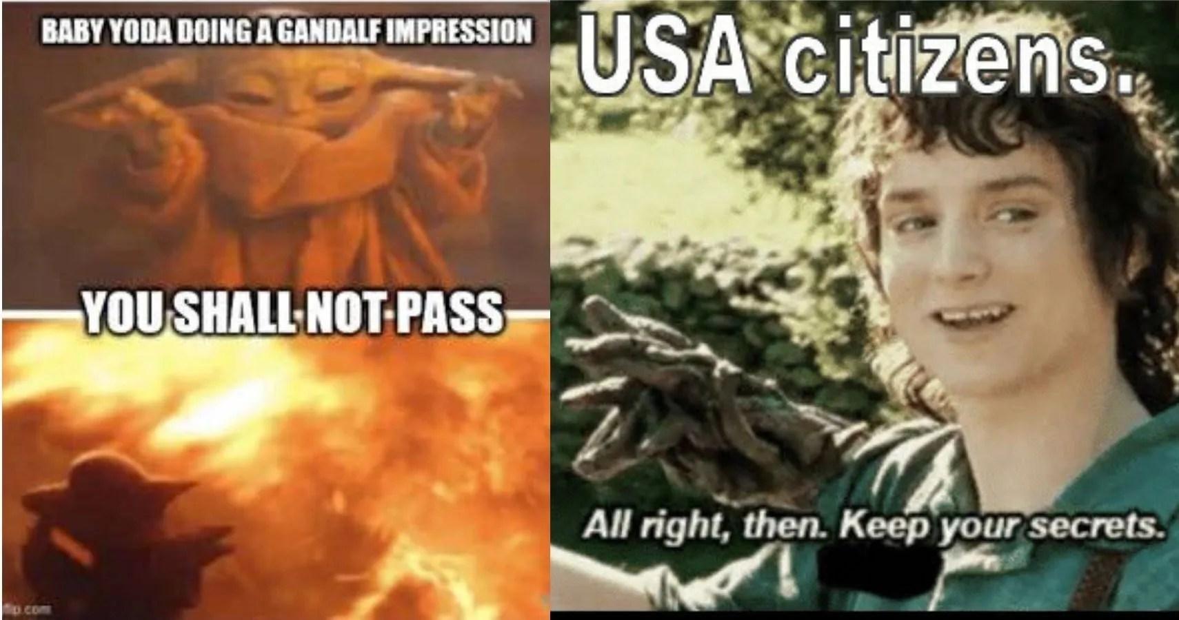 You Shall Not Pass Multipass Bitch Gandalf Fifth Element